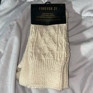 Forever 21 knee-high socks